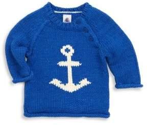 Petit Bateau Baby's Lavande Jersey Knit Sweater