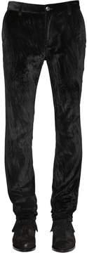 John Varvatos 17cm Skinny Cotton Velvet Pants
