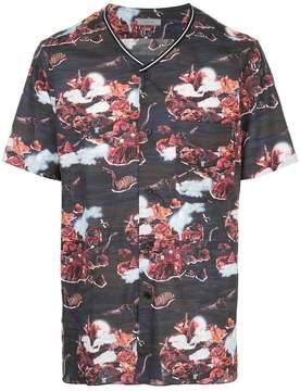 Lanvin landscape-print shirt
