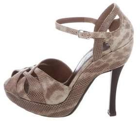 Marni Karung Ankle Strap Sandals