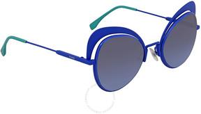Fendi Eyeshine Blue Gradient Cat Eye Ladies Sunglasses FF 0247/S PJP/GB