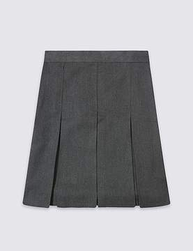 Marks and Spencer PLUS Girls' Skirt with Permanent Pleats