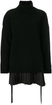 Diesel Black Gold roll-neck sweater dress
