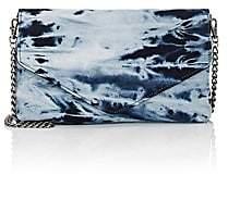 Barneys New York Women's Shibori-Style Tie-Dyed Clutch-Blue