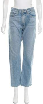 Brock Collection High-Rise Straight-Leg Jeans