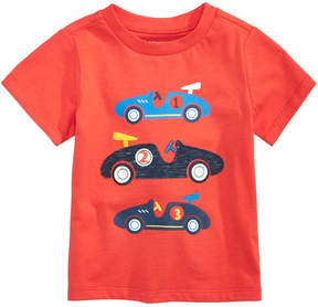 First Impressions Cars-Print Cotton T-Shirt, Baby Boys (0-24 months), Created for Macy's