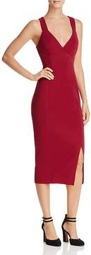 Aqua Cross-Back Sheath Dress - 100% Exclusive