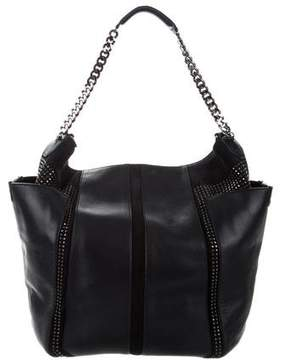 Jimmy Choo Studded Anna Satchel