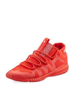 adidas by Stella McCartney CrazyTrain Bounce Mid-Top Fabric Trainer Sneaker, Bright Red