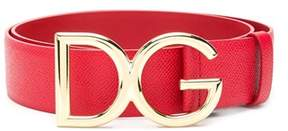 Dolce & Gabbana Dolce E Gabbana Women's Be1313a100180303 Red Leather Belt.