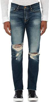 NSF Men's Distressed Slim Straight Jeans