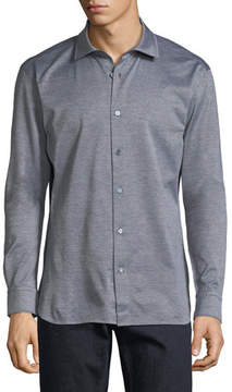Ermenegildo Zegna Cotton Jersey Sport Shirt