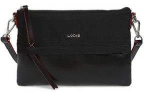 Lodis Kate Under Lock & Key Kala Leather Convertible Crossbody Bag - Black