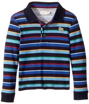 Paul Smith Striped Polo Boy's Clothing