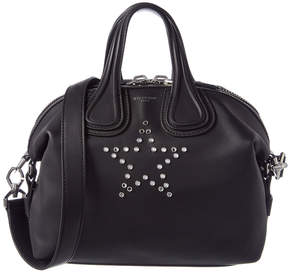 Givenchy Nightingale Small Star Embellished Leather Satchel