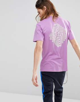 Diamond Supply Co. Formula T-Shirt With Back Print in Lilac