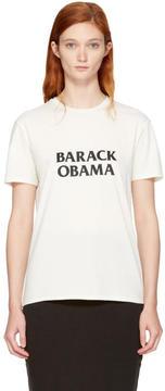 6397 White Barack Obama T-Shirt