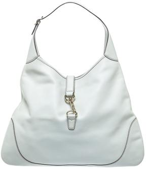 Gucci Hobo leather handbag - WHITE - STYLE