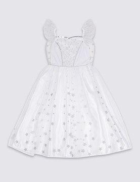 Marks and Spencer Kids' Sequin Angel Dress Up