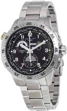 Hamilton Worldtimer Chronograph Black Dial Men's Watch