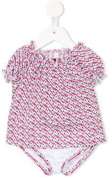 Emporio Armani Kids short-sleeve printed bodysuit