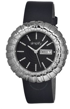 Simplify The 2100 Silver-tone Stainless Steel Case Ladies Watch