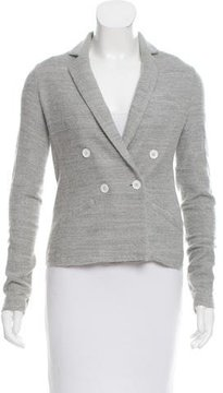 Boy By Band Of Outsiders Double-Breasted Knit Blazer