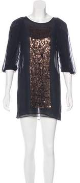 Vanessa Bruno Silk Embellished Tunic