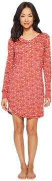 Aventura Clothing Polka Dot Night Shirt Women's Pajama