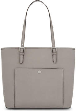 MICHAEL Michael Kors Jet Set Item large Saffiano leather tote - PEARL GREY - STYLE