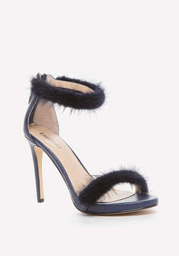 Bebe Paaris Faux Fur Sandals