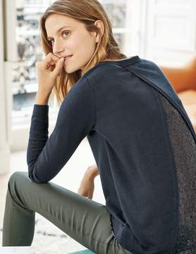 Boden Lila Sequin Back Sweater