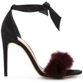 Alexandre Birman fur sandals
