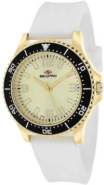 Seapro SP5419 Women's Tideway White Silicone Watch