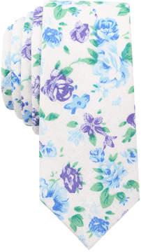 Bar III Men's Georgetown Floral Slim Tie, Created for Macy's