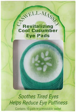 Cucumber Eye Pads Pack by Caswell-Massey (10 Pads)