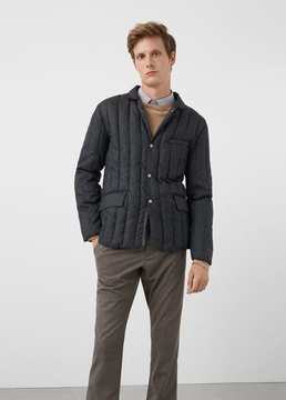 Mango Outlet Quilted jacket