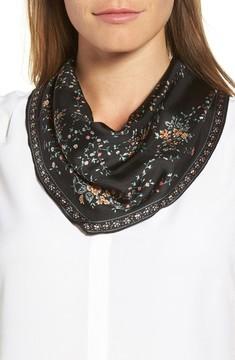 Echo Women's Floral Lace Silk Diamond Scarf