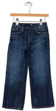 7 For All Mankind Boys' Five Pockets Wide-Leg Jeans