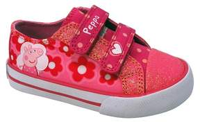 Peppa Pig Toddler Girls' Low Top Canvas Sneakers