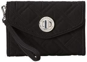 Vera Bradley Your Turn Smartphone Wristlet Wristlet Handbags - CLASSIC BLACK - STYLE