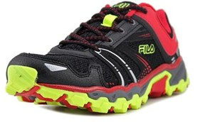 Fila Tko Tr Youth Round Toe Synthetic Black Running Shoe.