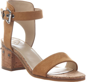 Madeline Glow Block Heel Ankle Strap Sandal (Women's)