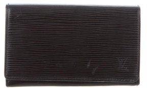 Louis Vuitton Epi Porte-Trèsor Wallet - BLACK - STYLE
