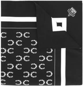 Dolce & Gabbana horseshoe print pocket square