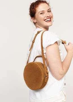 Violeta BY MANGO Leather bag