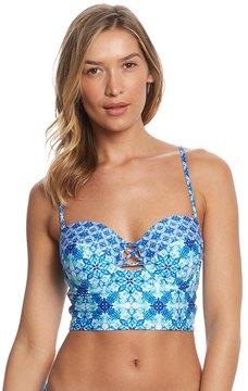 LaBlanca La Blanca True Blue Underwire Midkini Top 8154671
