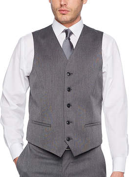 Jf J.Ferrar Pin Dot Slim Fit Suit Vest