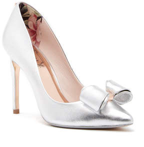 Ted Baker Azeline Leather Bow Pump