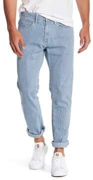 Save Khaki Indigo Stripe Surplus Jeans